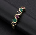 Estate Jewelry:Rings, Ruby Sapphire & Emerald Gold Ring. ...