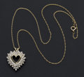 Estate Jewelry:Necklaces, Heart Necklace. ...