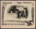 "Movie Posters:Drama, Down to the Sea in Ships (W.W. Hodkinson Corporation, 1922). LobbyCard (11"" X 14""). Drama.. ..."