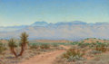 Texas:Early Texas Art - Regionalists, AUDLEY DEAN NICOLS (American, 1875-1941). Oracle Arizona.Oil on canvas. 20 x 12 inches (50.8 x 30.5 cm). Signed and tit...