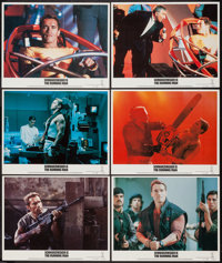 "The Running Man (Tri-Star, 1987). Lobby Cards (6) (11"" X 14""). Action. ... (Total: 6 Items)"
