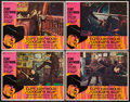 "Movie Posters:Crime, Coogan's Bluff (Universal, 1968). Lobby Cards (4) (11"" X 14"").Crime.. ... (Total: 4 Items)"
