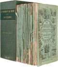 Books:Literature Pre-1900, Charles Dickens. Dealings with the Firm of Dombey and Son...London, 1846-1848. First edition in the original parts....