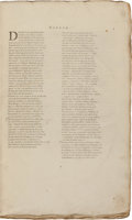 Books:World History, Domesday Book. [London, 1783]. First completeedition. Two folio volumes, 382 leaves; 450 pages. No title pages,as ... (Total: 2 Items)