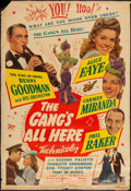 """Movie Posters:Musical, The Gang's All Here (20th Century Fox, 1943). Poster (40"""" X 60""""). Musical.. ..."""