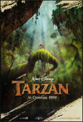 "Movie Posters:Animation, Tarzan (Buena Vista, 1999). One Sheet (27"" X 40"") DS Advance.Animation.. ..."