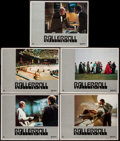 """Movie Posters:Science Fiction, Rollerball (United Artists, 1975). Lobby Cards (5) (11"""" X 14""""). Science Fiction.. ... (Total: 5 Items)"""