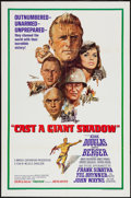 """Movie Posters:War, Cast a Giant Shadow (United Artists, 1966). One Sheet (27"""" X 41"""")and Lobby Card Set of 8 (11"""" X 14""""). War.. ... (Total: 9 Items)"""