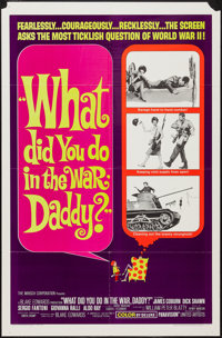 """What Did You Do in the War, Daddy? (United Artists, 1966). One Sheet (27"""" X 41"""") & Lobby Card Set of 8..."""