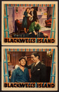 "Movie Posters:Crime, Blackwell's Island (Warner Brothers, 1939). Lobby Cards (2) (11"" X14""). Crime.. ... (Total: 2 Items)"
