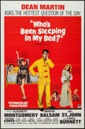 """Who's Been Sleeping in My Bed? and Others Lot (Paramount, 1963). One Sheets (5) (27"""" X 41""""), French One Sheets..."""