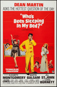 "Who's Been Sleeping in My Bed? and Others Lot (Paramount, 1963). One Sheets (5) (27"" X 41""), French One Sheets..."