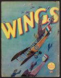 "Movie Posters:Academy Award Winners, Wings (Paramount, 1927). Program (Multiple Pages, 9"" X 12"").Academy Award Winners.. ..."