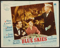 """Movie Posters:Musical, Blue Skies & Other Lot (Paramount, 1946). Lobby Card &Lobby Card Set of 8 (11"""" X 14""""). Musical.. ... (Total: 9 Items)"""