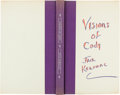 Books:Literature 1900-up, Jack Kerouac. Excerpts From Visions of Cody. [New York: NewDirections, 1960]. First edition, number 550 of 750 co...