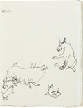 Books:Fine Press & Book Arts, [Alexander Calder]. Fables of Aesop According to Sir RogerL'Estrange. With Fifty Drawings by Alexander Calder. ...