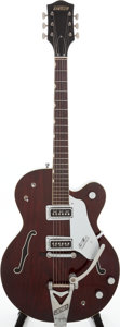 Musical Instruments:Electric Guitars, 1964 Gretsch Tennessean Burgundy Semi-Hollow Body Electric Guitar,Serial # 75463....