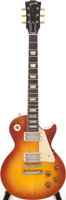 Featured item image of 1960 Gibson Les Paul Standard Sunburst Solid Body Electric Guitar, Serial # 0 1494. ...