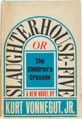 Books:Literature 1900-up, Kurt Vonnegut, Jr. Slaughterhouse Five or The Children'sCrusade. [New York]: Delacorte Press, [1969]. First edition...