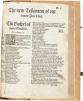 Books:Religion & Theology, [Bible in English]. The Whole Byble, that is the holy scriptureof the Olde and Newe testament faythfully translated int...