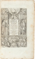 Books:Religion & Theology, [Bible in English]. The Holy Bible Containing the Old Testamentand the New. Newly translated out of the originall...(Total: 2 Items)
