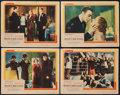 """Movie Posters:Romance, History is Made at Night (United Artists, 1937). Lobby Cards (4) (11"""" X 14""""). Romance.. ... (Total: 4 Items)"""