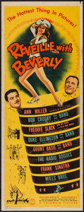 """Movie Posters:Musical, Reveille with Beverly (Columbia, 1943). Insert (14"""" X 36""""). Musical.. ..."""