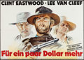 """Movie Posters:Western, For a Few Dollars More (United Artists, R-1978). German A0 (33"""" X 46""""). Western.. ..."""