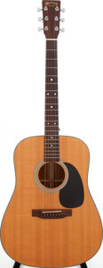 Musical Instruments:Acoustic Guitars, 2003 Martin D-18 Natural Acoustic Guitar, Serial # 973088. ...