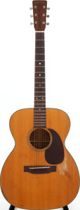 Musical Instruments:Acoustic Guitars, 1951 Martin 000-18 Natural Acoustic Guitar, Serial # 118608....