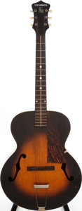 Musical Instruments:Acoustic Guitars, 1942 Cromwell Sunburst Archtop Acoustic Guitar, Serial # 990H....