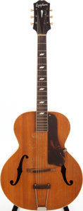 Musical Instruments:Acoustic Guitars, 1945 Epiphone Blackstone Natural Archtop Acoustic Guitar, Serial #52685. ...