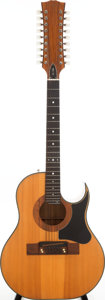 Musical Instruments:Acoustic Guitars, 1970s Smith Prototype Natural 18-String Acoustic Guitar, Serial # 407. ...