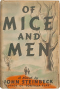 Books:Literature 1900-up, John Steinbeck. Of Mice and Men. New York: [1937]. Firstedition, first issue....