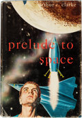 Books:Science Fiction & Fantasy, Arthur C. Clarke. Prelude to Space. [New York]: [1954].First American edition. Signed by Clarke.. ...