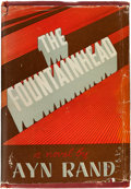 Books:Literature 1900-up, Ayn Rand. The Fountainhead. Indianapolis: [1943]. Firstedition, first issue.. ...