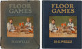 Books:Children's Books, H. G. Wells. Floor Games. London: [1911]. Two copies of thefirst edition; one inscribed by Wells to his children'... (Total: 4Items)