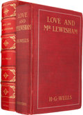 Books:Literature 1900-up, H. G. Wells. Love and Mr. Lewisham. London, New York: 1900.First edition. Signed by Wells. With photograph of Wel...