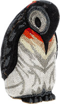 Luxury Accessories:Bags, Judith Leiber Full Bead Multicolor Crystal Penguin MinaudiereEvening Bag. ...