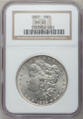 Morgan Dollars: , 1902 $1 MS65 NGC. NGC Census: (879/177). PCGS Population(1453/462). Mintage: 7,994,777. Numismedia Wsl. Price for problem...