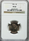 Proof Liberty Nickels: , 1901 5C PR65 NGC. NGC Census: (137/149). PCGS Population (107/121).Mintage: 1,985. Numismedia Wsl. Price for problem free ...