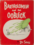Books:Children's Books, Dr. Seuss. Bartholomew and the Oobleck. Random House, 1949.Later edition. Minor rubbing to pictorial boards with so...