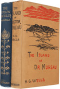 Books:Science Fiction & Fantasy, H. G. Wells. The Island of Doctor Moreau. [and:] TheStolen Bacillus. London: 1896; 1895. First editions... (Total:2 Items)