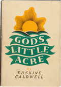 Books:Fiction, Erskine Caldwell. God's Little Acre. NY: 1933. First edition. Inscribed by cast members of 1958 film (Jack Lord, T...