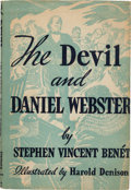 Books:Literature 1900-up, Stephen Vincent Benét. The Devil and Daniel Webster. NY:1937. Fourth printing. Inscribed, signed by director, cas...