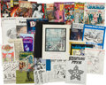 Magazines:Miscellaneous, Comic and Sci-Fi Group (1960s-90s).... (Total: 33 Items)