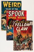 Golden Age (1938-1955):Horror, Comic Books - Assorted Golden Age Horror Comics Group (VariousPublishers, 1940s-'60s) Condition: Average GD.... (Total: 25 )