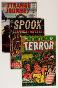 Golden Age (1938-1955):Horror, Comic Books - Assorted Golden Age Horror Comics Group (VariousPublishers, 1950s) Condition: Average GD.... (Total: 24 ComicBooks)