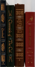 Books:Literature 1900-up, [Literature]. Group of Four Books Published by Easton Press.Publisher's leather. Mild shelfwear. Canterbury Tales with... (Total: 4 Items)
