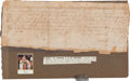 Autographs:Non-American, King James I Partial Document Signed...